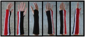 Mass Effect Shepard Armwarmer by RebelATS