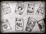 Slenderman papers by DirectionForLyfe