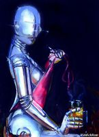 Sexy Robot by RiddickRom