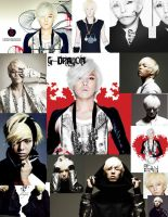 g-dragon: blonde collage by ExistenceShortLived