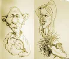 And More Airport Sketches by DoodleArtStudios