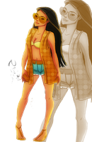 Disney Fashion_Pocahontas by Georgia-O-Queef