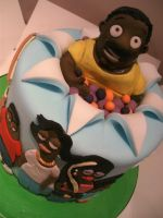 The Cleveland Show Cake.4 by gertygetsgangster