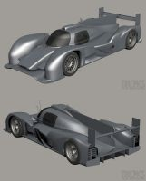 Audi R18 WIP2 by The-IC