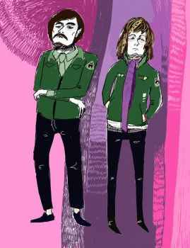 mighty boosh by pugsly