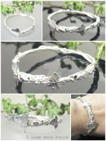 Binding Ivy Bangle by WallaceReg