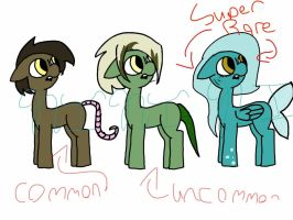 Everfree pony adopts by Deep-Fried-Love