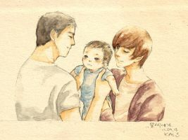 Kangteuk as Hello Baby by kasumivy