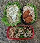 Contest - Spring bento. Hatching Birds! by susanlin