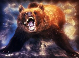 The Bear Goes Rawr! by CensoredEyes