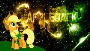 Applejack (Wallpaper) by Hardii