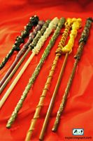 DIY Harry Potter Wands 3 by SugiAi