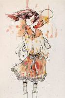 Fashion drawing 1 by S-Banh