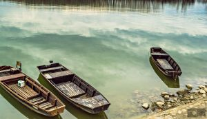 Boat on a river by CycleMotion