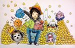 Me and StrawHat chicks by Szainx