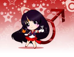 Chibi Sailor Mars by Paprika-Studios
