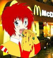 Ronald cute mcdonald by Lovemymudsy