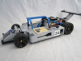 Sauber C9 lego without fairing by Greg998 by GREG998MOC