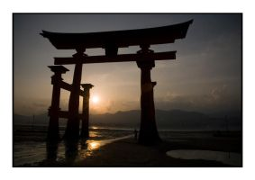 JAPAN - Hiroshima gate 2 by thrillissues