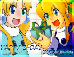 Happy B-Day Rockman 25th by Kamira-Exe