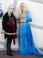 Nuala and Nuada by Sephirayne