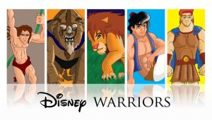 Disney Warriors by mr-suavemente