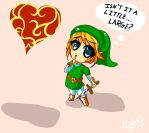 Link from Legend of Zelda: How does it fit? by eightix