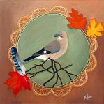 Autumn jay by Wolverica