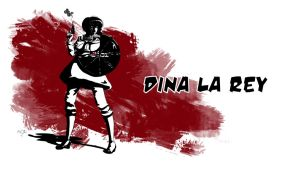 Dina la Rey Wallpaper by ScandinavianLullaby