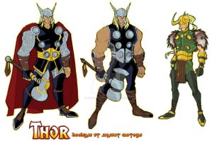 Thor Animated by Jonboy007007