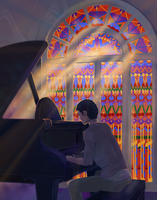 Piano Boy by revois