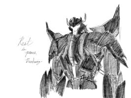 TF: Dreadwing sketch by ZeeNovos