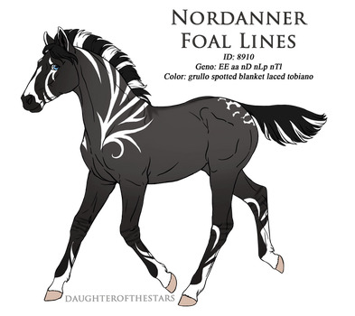 8910 - Nordanner Foal Design by Ikiuni
