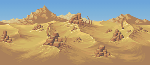 Planet Centauri -  Desert background by PlanetCentauri
