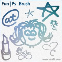 Fun - Photoshop Brush by alinema