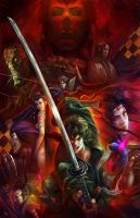 NINJA SCROLL by MichaelCTY