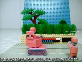 papercraft Advance Wars Duck Hunt training... by ninjatoespapercraft