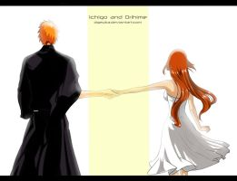 IchiHime Week - 2 day by Dgesika