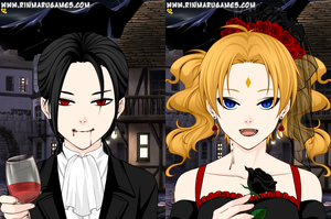 Vampire King and Queen by AngelOfBeauty88