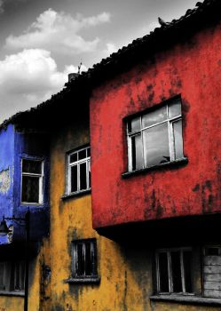 OldBlue OldYellow and OldRed by kkbdk
