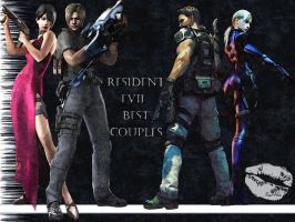 Resident Evil Best Couples by Real-Ada
