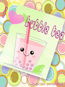 I love Bubble Tea by Mohibi