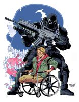 Venom - Flash Thompson color by ScottCohn