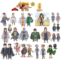 OOKAIJI concepts by emlan
