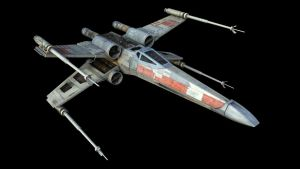 T-65B X-Wing Fighter by WoodyLWG