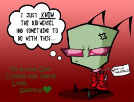 All I Want for X-mas is ZIM!!! by Spectra22