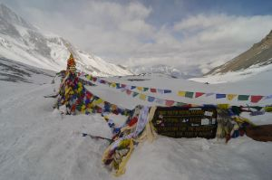 Annapurna Circuit - Day 9 - On the Pass by LLukeBE