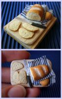Miniature Sliced Bread by vesssper