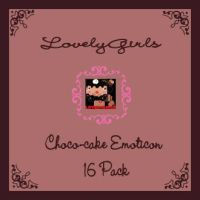 Choco-cake Emoticons Pack by mymelody1
