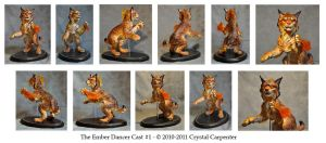 Ember Dancer Cast 1 Turn by soulofwinter